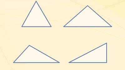 Types of triangles - Bilimland.kz