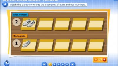 6.03.1. Even and odd numbers – Foundation - Bilimland.kz
