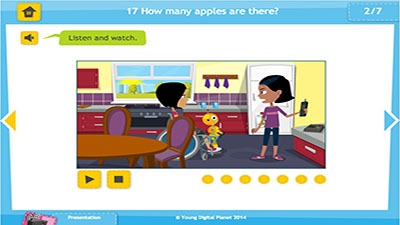 017. How many apples are there? - Bilimland.kz