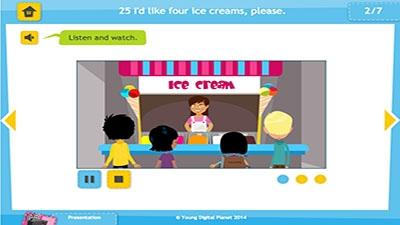 025. I'd like four ice creams, please. - Bilimland.kz