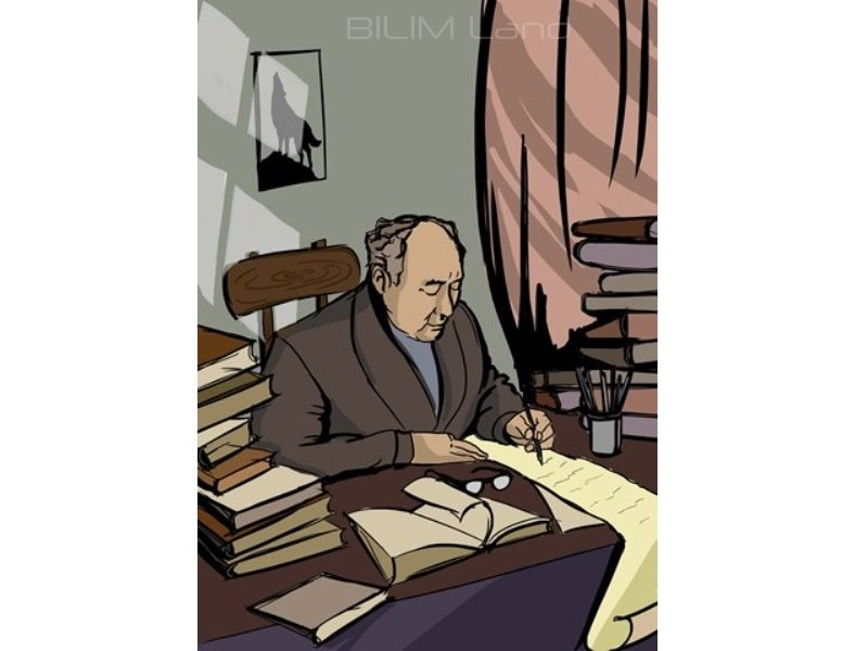Мұхтар Әуезов. Ақын қонақтар-1