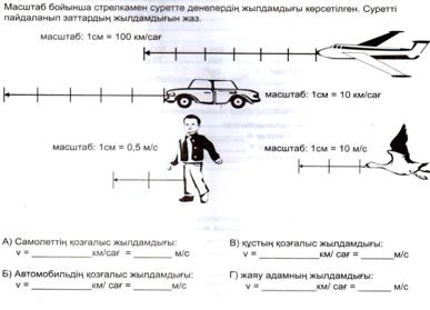Скалярлық және векторлық шамалар - 14