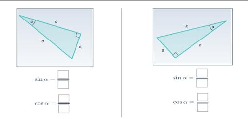 Решение прямоугольных треугольников - 3