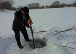 Рыбы. Как помочь рыбам зимой - 14