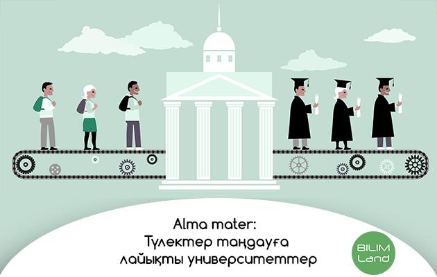 Alma mater: Түлектер таңдауға лайықты университеттер