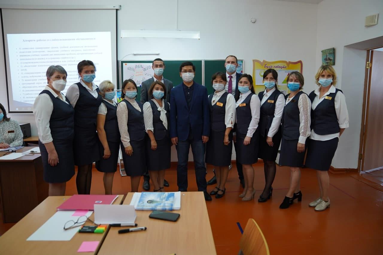 Министр образования и науки РК посетил сельскую школу, колледжи и университет Акмолинской области